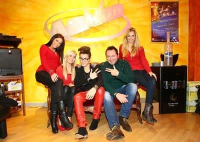 Andrea Renzullo auf unserer VIP Lounge im Tonstudio