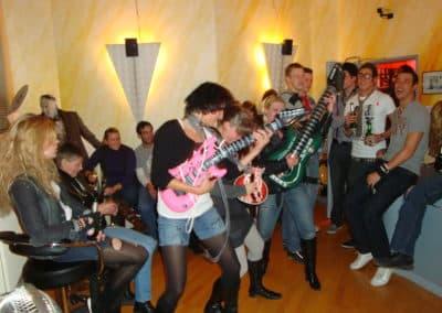 Partystimmung im Tonstudio - Business Feier auf eine ganz andere Art