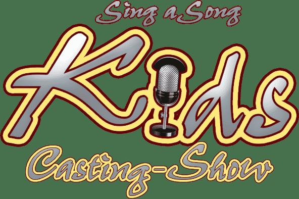 Sing a Song Logo: Kids Casting Show - der ganz besondere Kindergeburtstag!