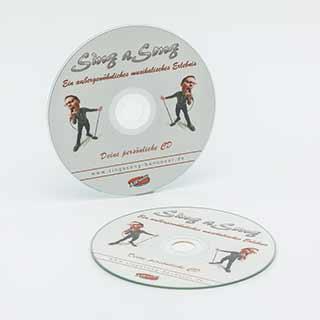 Unsere Cover-DVDs mit deiner persönlichen Aufnahme