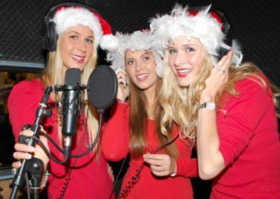 Weihnachtsfeier im AirMan Tonstudio Hannover
