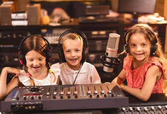 Kindergeburtstag im Tonstudio Hannover